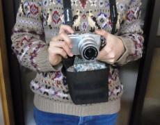 カメラのカバーを作りました