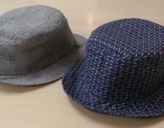 紫外線が気になる季節。手づくり帽子のススメ!