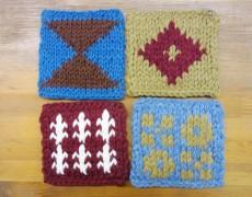 【追加開催決定!】 冬の編みこみコースターを作る会 @FRANK暮らしの道具